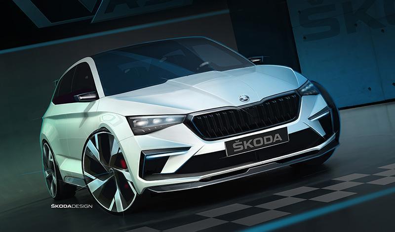 Skoda:В создании концепт-кара ŠKODA VISION RS использовались экологически чистые материалы