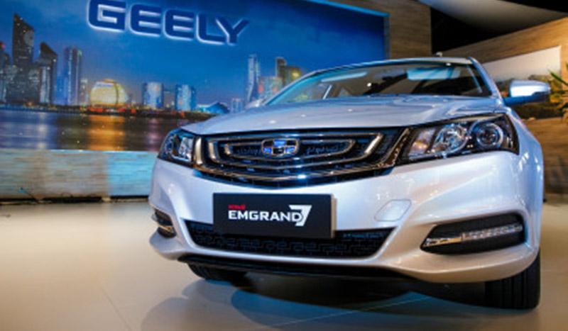Geely:Geely объявил старт продаж обновленного седана Emgrand 7