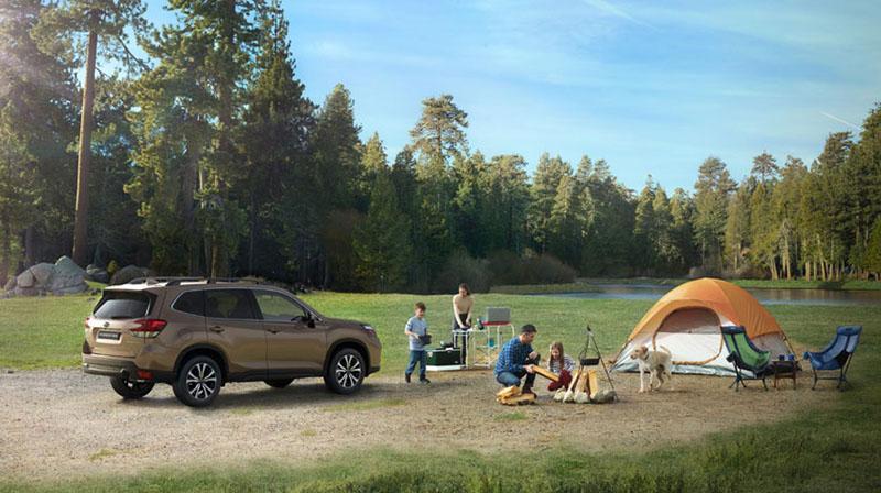 Скоро пройдет российская премьера пятого поколения Subaru Forester