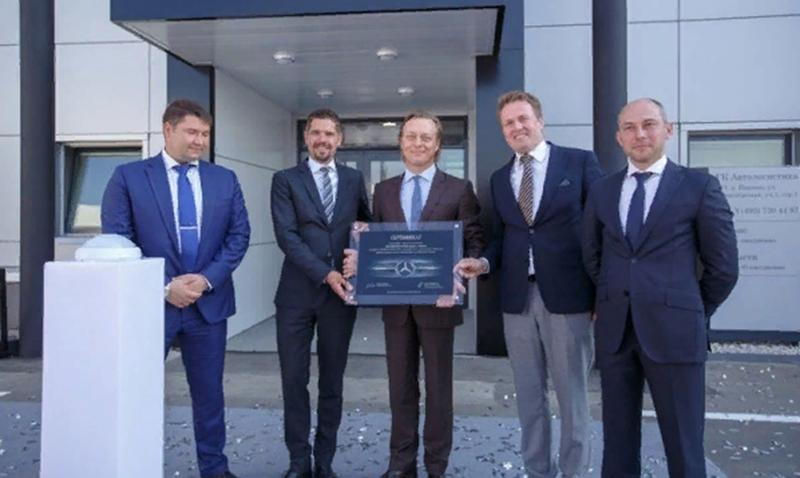 Mercedes-Benz:В России открылась новая сервисная станция по обслуживанию грузовой техники Mercedes-Benz