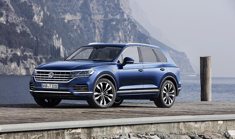 Новый Touareg марки Volkswagen получил пять звезд в Euro NCAP