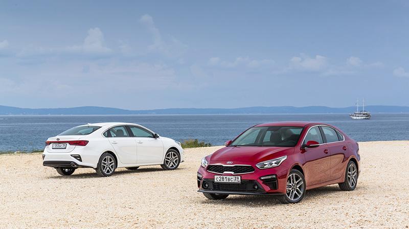 KIA объявила цены на новый KIA Cerato четвертого поколения