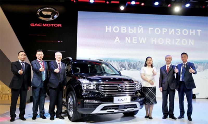 GAC Motor:GAC Motor представила модельный ряд автомобилей на ММАС 2018 и поделилась о планах по выходу на российский рынок в 2019 году