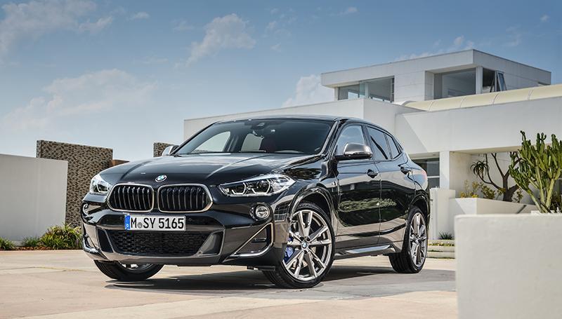 BMW представляет новую топовую версию BMW X2 в исполнении M Performance