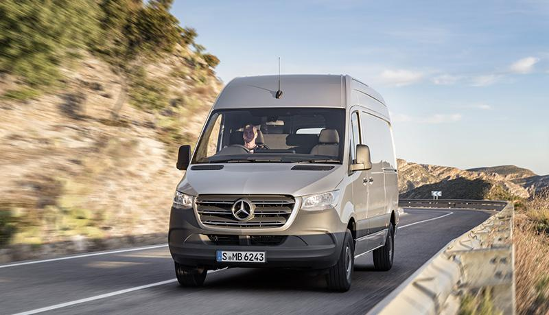 Mercedes-Benz:На российский рынок выходит новое поколение Sprinter