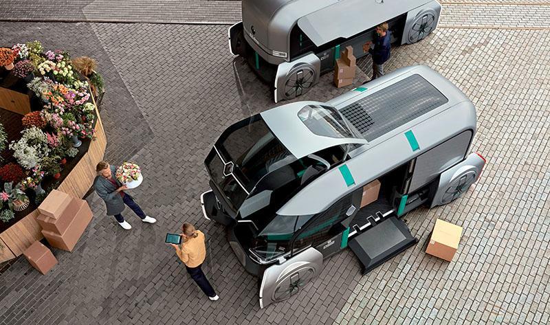 Renault представляет Renault автономный концепт EZ-PRO