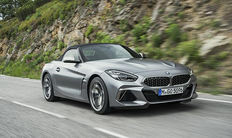 BMW объявляет цены на новый родстер Z4