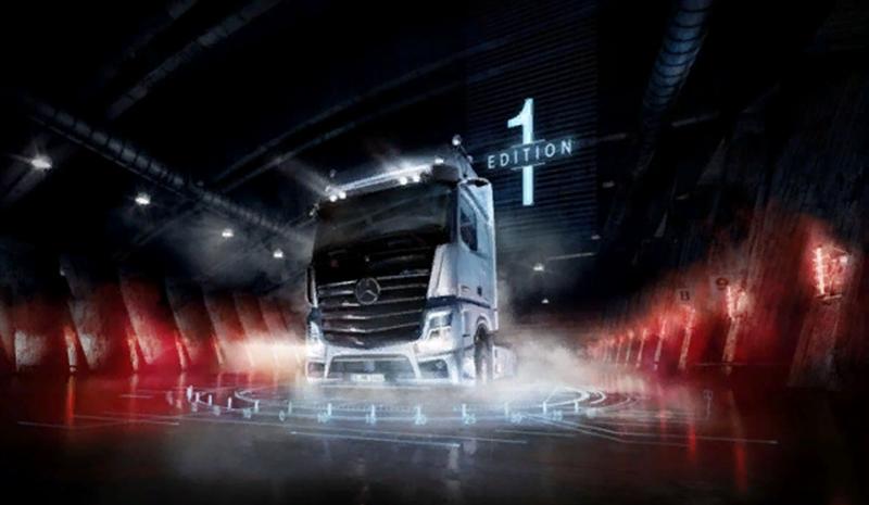 Mercedes-Benz:Mercedes-Benz представил новый Actros