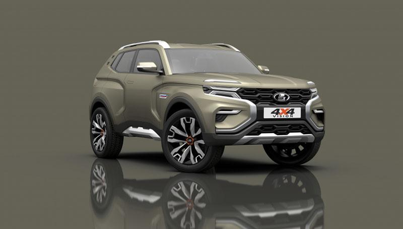 LADA представит концепт-кар LADA 4x4 VISION на Тольяттинском автосалоне
