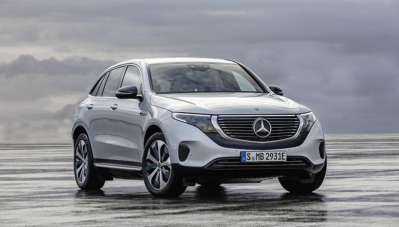Mercedes-Benz представляет новый EQC