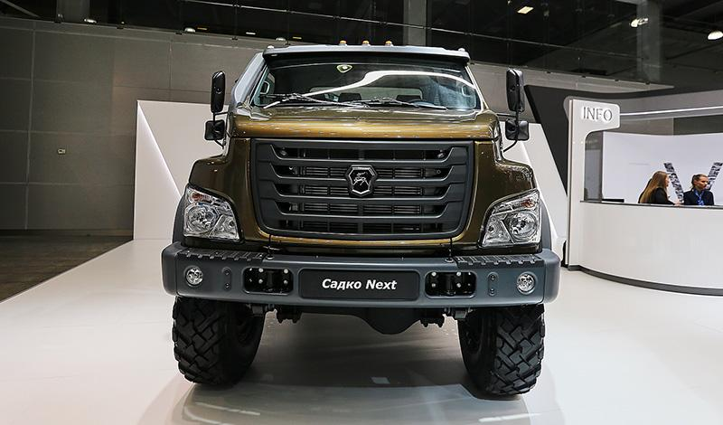 """GAZ:ГАЗ начал принимать заказы на внедорожный грузовик """"Садко NEXT"""""""