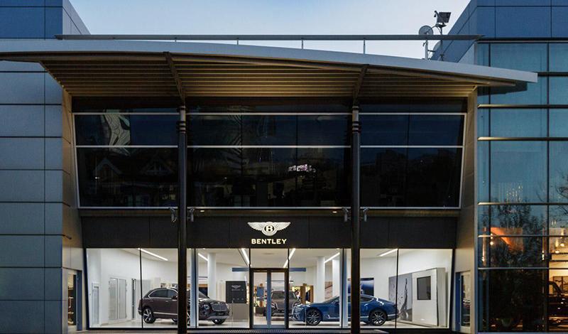 Дилерский центр Bentley открылся в Екатеринбурге