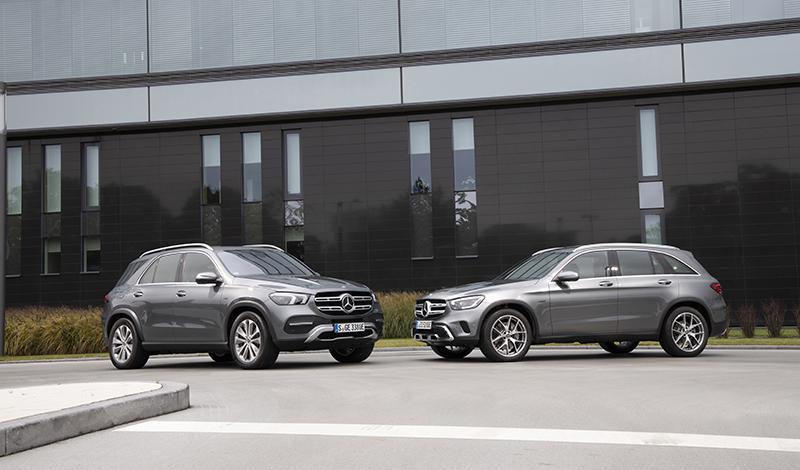 Mercedes-Benz представил гибридный GLE 350 de 4MATIC