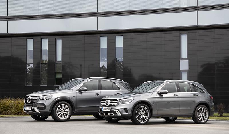 Mercedes-Benz:Гибридный GLC 300 e 4MATIC от Мерседес официально представлен