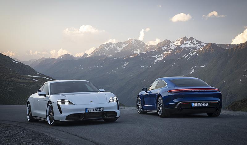Porsche:Франкфурт 2019: новинки от Porsche