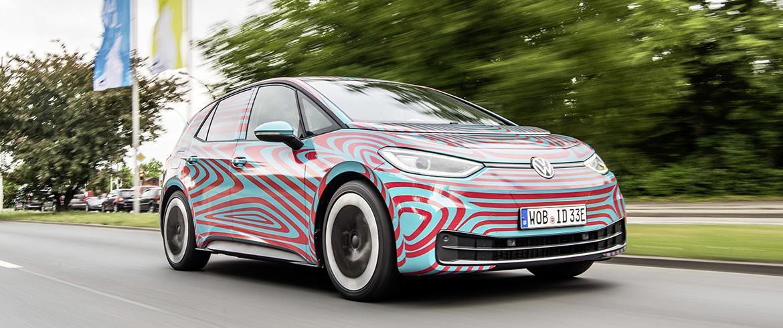 Франкфурт 2019:  Volkswagen покажет  ID.3