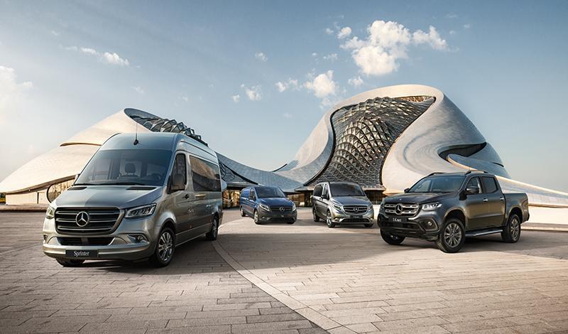 Mercedes на выставке коммерческой техники Комтранс-2019