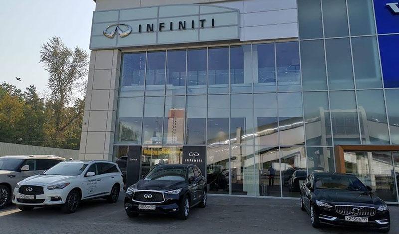 INFINITI Inchcape Восток - новый официальный дилер Инфинити