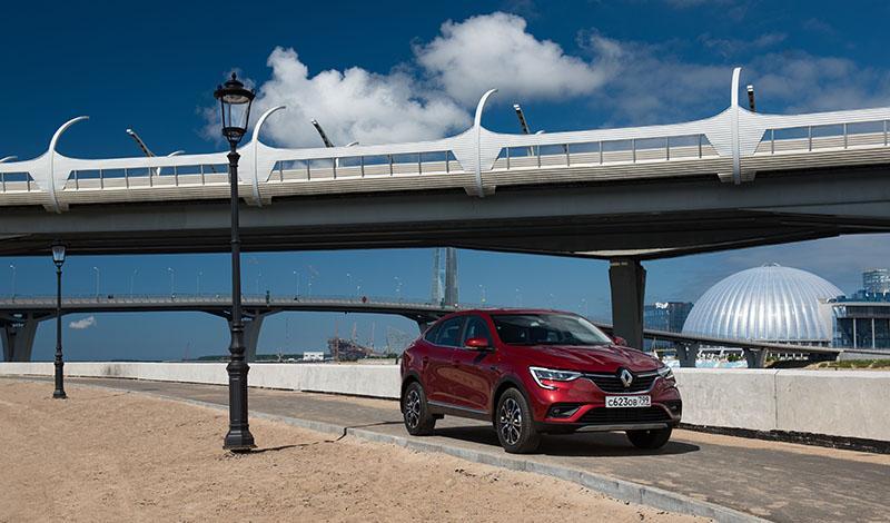Компания «Аренда Авто» пополнила свой парк кросс-купе Renault ARKANA, в комплектации Edition One