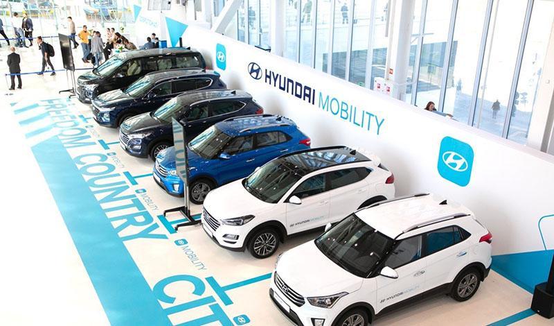Hyundai:Creta, Tucson, Santa Fe и микроавтобус H-1 по подписке от 1 часа до 1 года. Скоро