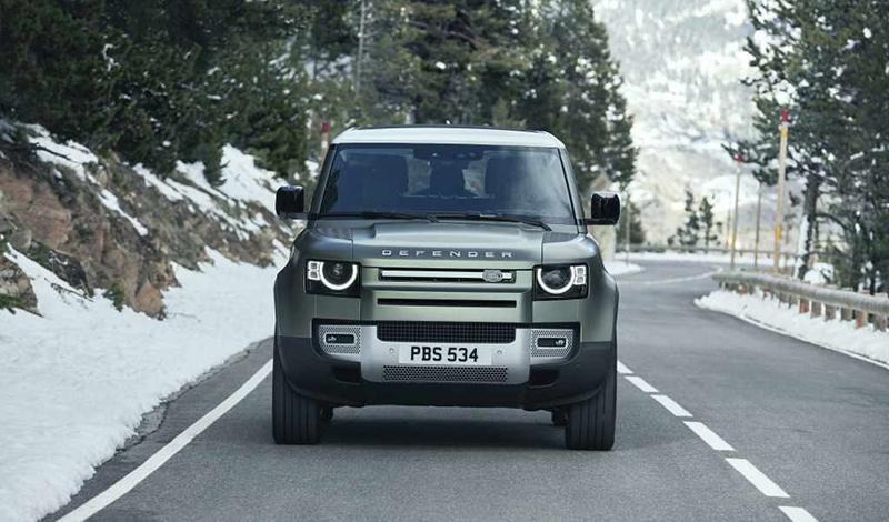 Франкфурт 2019: Встречаем новый Land Rover Defender 2020