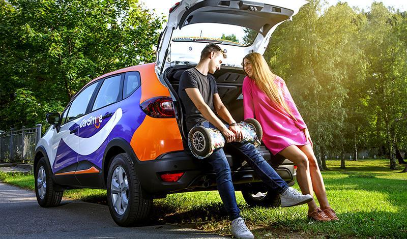 CarSmile пополнил свой парк каршеринга в Липецке кроссоверами Renault Kaptur и автомобилями Logan и Sandero