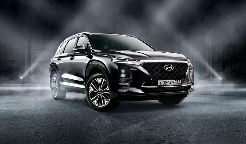 Hyundai Santa Fe перед выходом рестайлинга представил новую комплектациию Black&Brown