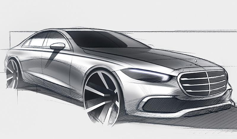 Новый S-класс 2021 будет представлен на онлайн-платформе Mercedes me media