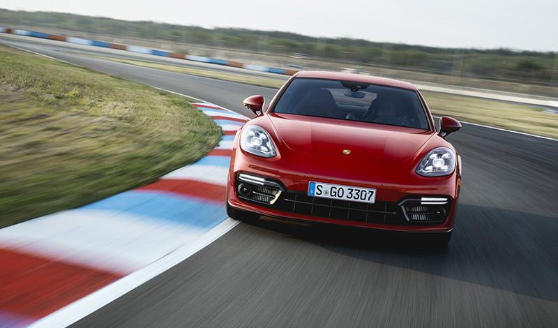 Рестайлинг Porsche Panamera GTS 2021