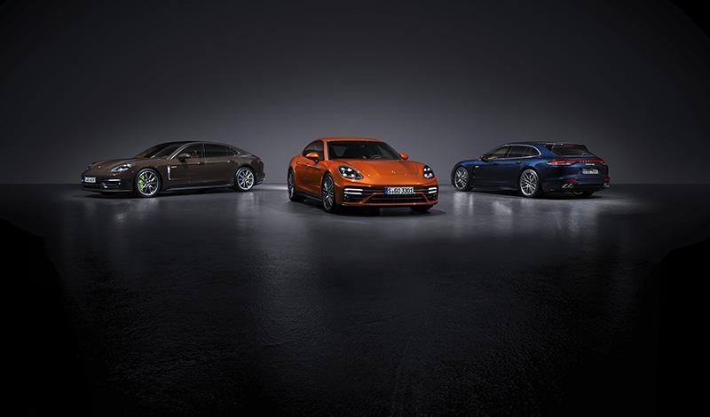 Рестайлинг Porsche Panamera 2021