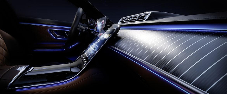 Салон нового Mercedes-Benz S-Класс 2021