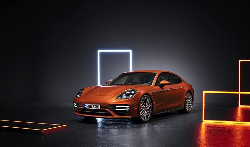 Рестайлинг Porsche Panamera Turbo 2021