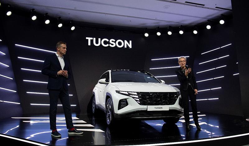 Hyundai Tucson 2021 доступен к заказу. Цена от 1 869 000 ₽