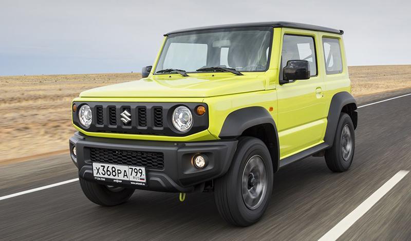 Suzuki отзывает Jimny произведенные с июня 2019 по февраль 2021 г
