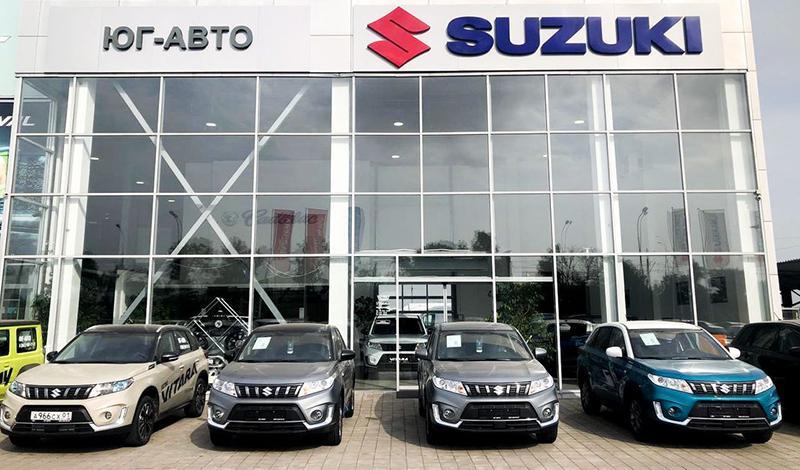 Новый дилерский центр Suzuki открыт в Республике Адыгея (пос. Яблоновский)