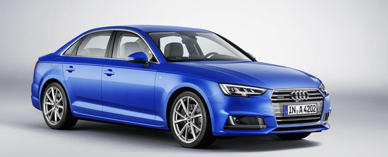 Спортивный седан премиум-класса – новый Audi A4 B9