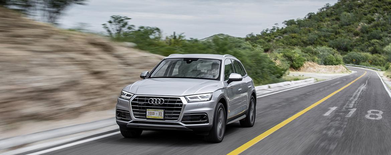 """Audi Q5 - городской автомобиль """"премиум-класса"""""""