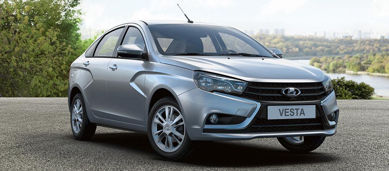 Автомобиль нового поколения - стильная и стремительная Lada Vesta