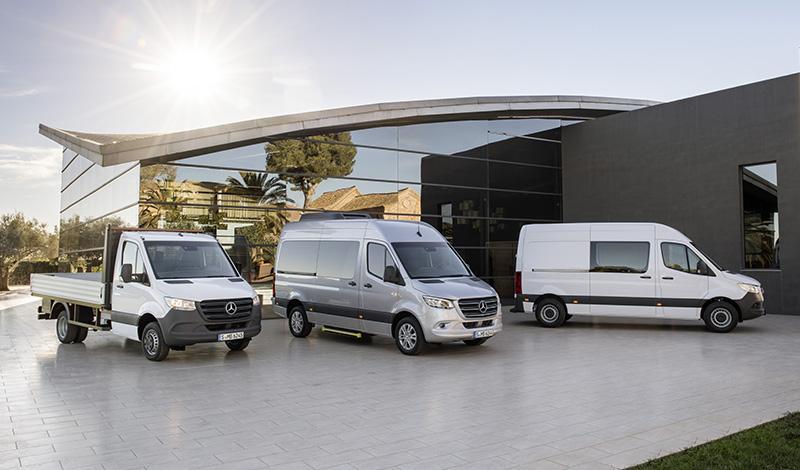 Mercedes Sprinter 2018 года – новый взгляд и модификации на любой вкус и кошелек