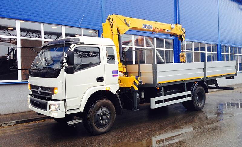 Dong Feng DFA 1120 - легкий и универсальный грузовик
