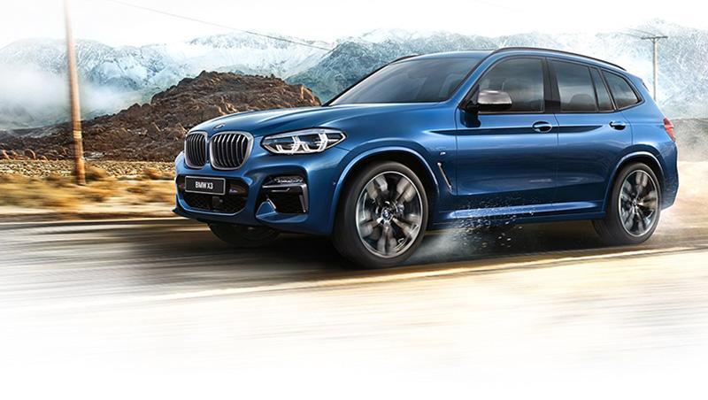 Новый BMW X3: бескомпромиссное сочетание динамики и безопасности