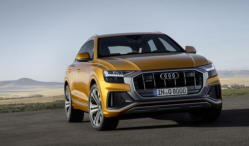 Новый Audi Q8 – флагман линейки Q