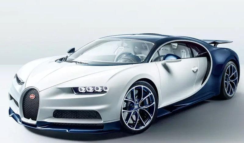 О модельном ряде Bugatti