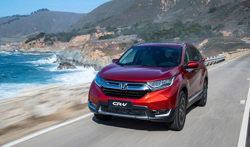 Обновленный Honda CR-V 2016 года - надежный и современный семейный автомобиль